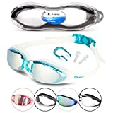 i-Sports Pro Anti-Fog, UV Protected Swim Goggle, Blue