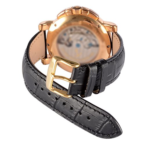 WOCCI-Quick-Release-Watch-BandsReplacement-Alligator-Leather-Watch-Strap-with-Gold-Metal-Pins-Buckle