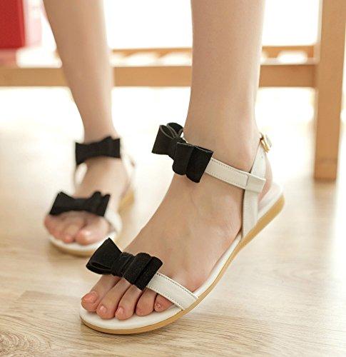 Insun - Sandalias de vestir de Material Sintético para mujer Hueso - blanco crema