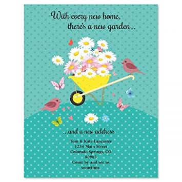 amazon com home garden moving announcements postcards set of