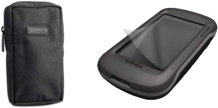 Garmin Universal Carrying Case 010-10117-02 /& Garmin Anti-Glare Screen Protectors for Montana
