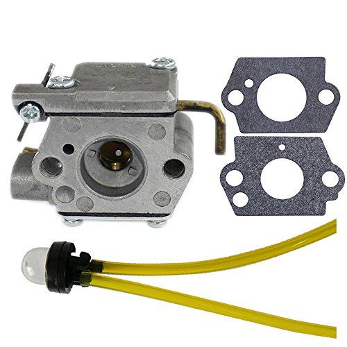 (HIPA 753-04333 Carburetor with Primer Bulb for MTD Ryobi 280 280r 310BVR RGBV3100 410r 600r 700r 700rVP 704r 704rVP 705r 720r 725r 725rE 750r 765r 766r 767r 770rEB 775r 790r Trimmer)