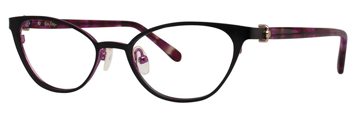 LILLY PULITZER Eyeglasses MORADA Black 50MM at Amazon Men\'s Clothing ...