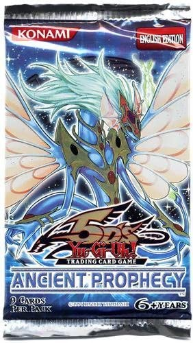YuGiOh 5Ds Ancient Prophecy Booster Pack [Toy]: Amazon.es: Juguetes y juegos