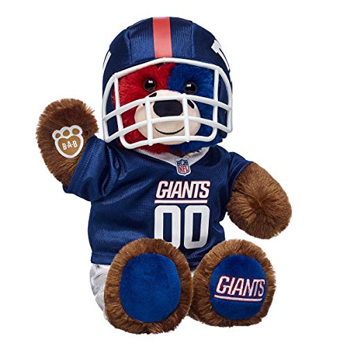 Build A Bear Workshop Workshop New York Giants Teddy Bear Gift Set