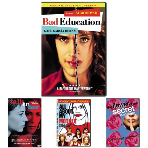 Bad Education + Talk to Her + All About My Mother (Remastered) + The Flower of My Secret