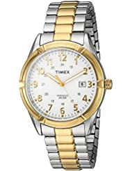 Timex Mens TW2P89300 Easton Avenue Two-Tone Stainless Steel Expansion Band Watch