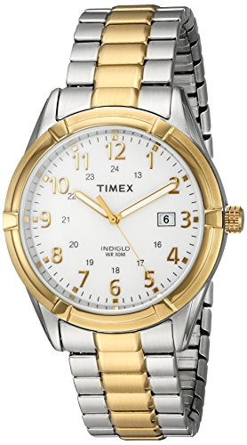 (Timex Men's TW2P89300 Easton Avenue Two-Tone Stainless Steel Expansion Band Watch)