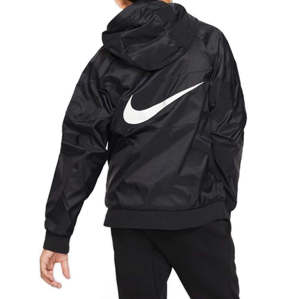 Nike Giacca da Ragazzo Windrunner Nera cod CJ6722-010
