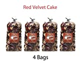 Hosley Red Velvet Cake Potpourri - Set of 4/4 oz each. Ideal for Gift for Spa, Wedding, Party, Decorative Bowls O7