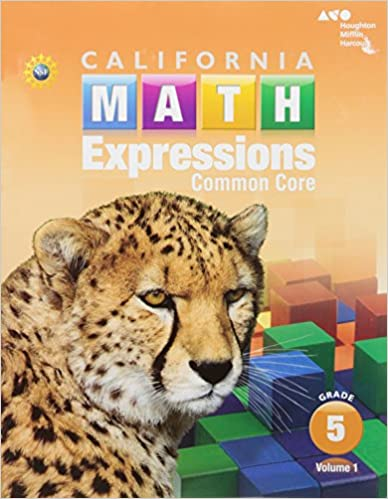 Math Worksheets houghton mifflin math worksheets grade 5 : Houghton Mifflin Harcourt Math Expressions California: Student ...