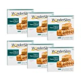 WonderSlim Low-Carb Gourmet High Protein Bar/Diet Bars with 10g Protein - Trans Fat Free, Cholesterol Free, Creamy Peanut Butter - 6 Box Value-Pack (Save 10%)