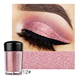 Glitter Eyeshadow Makeup Sparkling Powder Shimmer Eye Shadow Pigment Silky Loose Powder Nude Palette Cosmetics