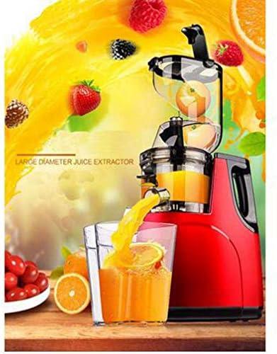 MEICHEN La tecnología de Motor Nueva Boca Grande Lenta Velocidad de exprimidor de Frutas y exprimidor de cítricos de Baja Velocidad de Verduras