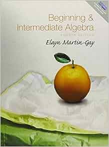 martin gay beginning algebra book