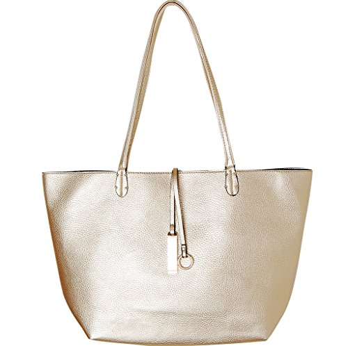 Gold Tote Bags: Amazon.com