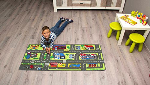 Children's Factory Learning Carpets Value City Life Play Carpet, 27'' x 60'' by Children's Factory (Image #2)