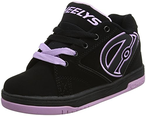 Heelys Propel 2.0 Skate Shoe (Little Kid/Big Kid) Black/Reggae