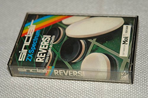 ZX Spectrum Program Cassette Tape / REVERSI also known as OTHELLO / Retro Collectible Game / Intended for: ZX Spectrum G18/S 16K RAM