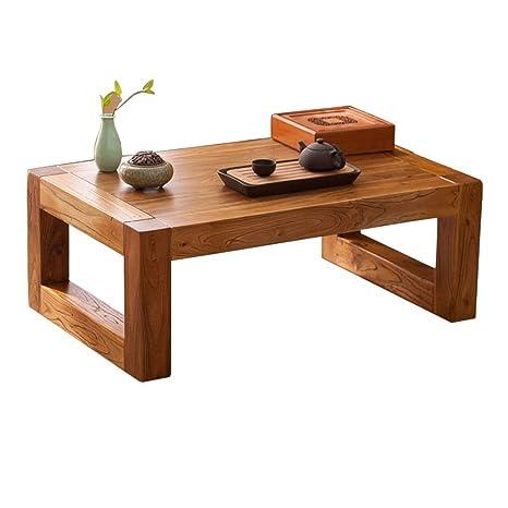Amazon.com: Mesa de café mesa de té baja mesa de estudio ...