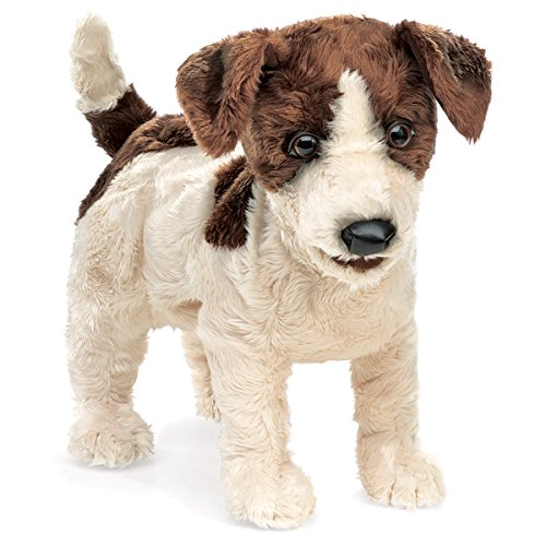 Jack Russell Terrier Hand Puppet<br>Folkmanis