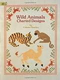 Wild Animals Charted Designs, Celeste Plowden, 0486259919