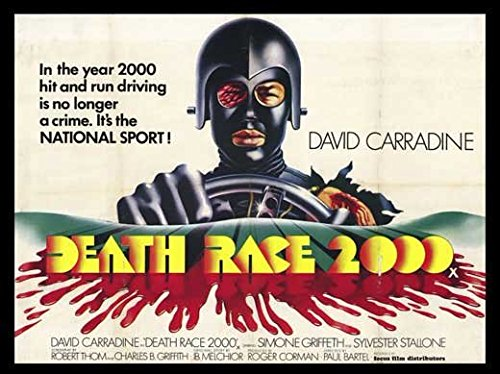 Death Race 2000 11 x 17 Movie Poster