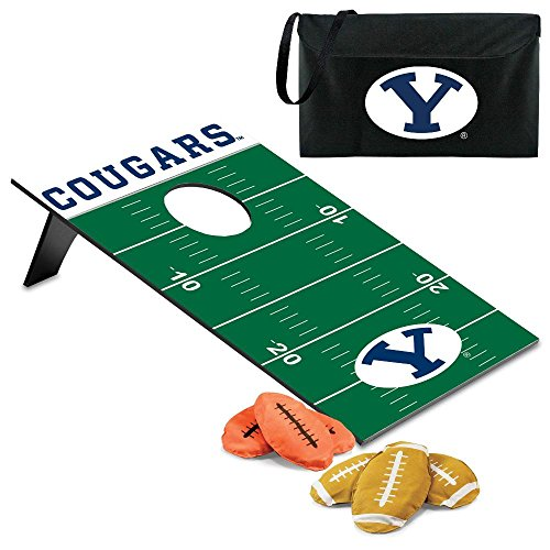 NCAA Byu Cougars Throw Football Digital Print Bean Bag, One Size, Other by PICNIC TIME