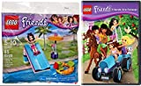 LEGO Friends: Friends Are Forever DVD & LegoPool Slide Splash with Emma Set 30401 Mini Figure Image