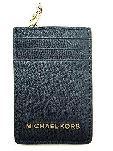 8f05eeee83df NWT MICHAEL KORS JET SET TRAVEL LANYARD ID CARD CASE BADGE HOLDER (Dusty  Rose)