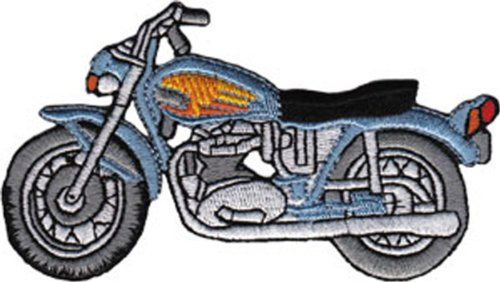 Application blue street bike patch