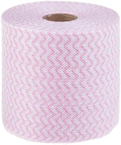 1 rollo (20 metros) desechables lavado de cara toalla maquillaje soplo almohadillas de algodón suave limpieza profunda papel limpiador cosmético esmalte de uñas removedor: Amazon.es: Belleza