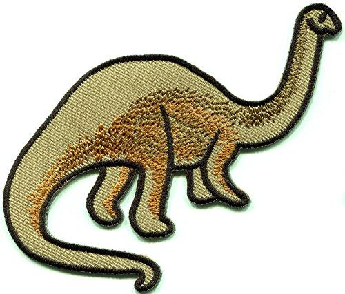 Patagosaurus Jurassic dinosaur embroidered applique