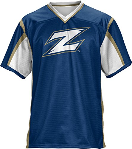 ProSphere Men's University of Akron Scramble Football Fan Jersey - Shopping Akron Ohio In