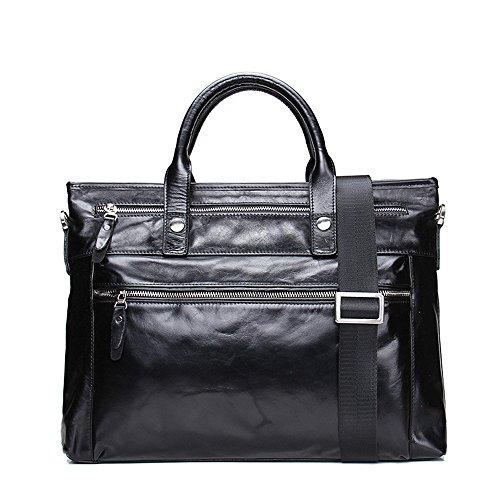 Porte À fonctionnel Leather Business Loisirs Hommes Main Men's sac Multi Porte Real Pour Yhjklm documents documents fZxwdBqRR