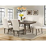 Dex Dining Table & 6 Side Chairs
