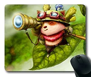 Game LOL League of Legends Teemo Mouse Pad/Mouse Mat Rectangle by ieasycenter