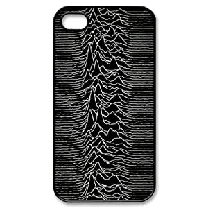 joy division Snap-on Hard Case Cover Skin compatible with Apple iPhone 4 4S 4G