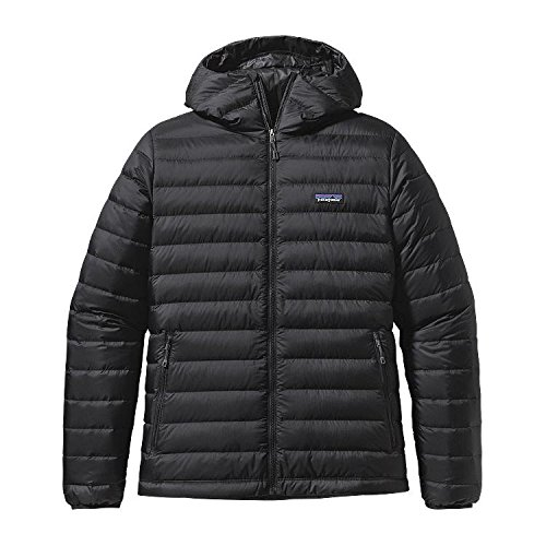 Patagonia Mens M's Down Sweater Hoody, Black, S