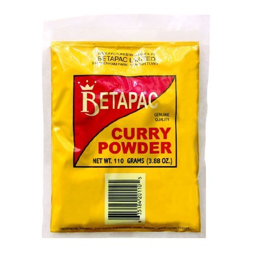 Betapac Curry Powder 110grams (Small) by Beta Pac