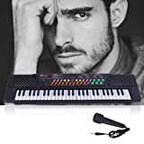 54 Key Children's Electric Music Digital Piano Keyboard W/Mic for Beginners and Kids - Portable