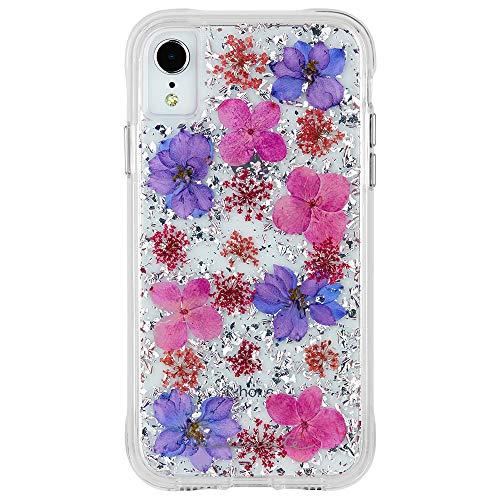 Case-Mate - iPhone XR Case - KARAT PETALS - iPhone 6.1 - Purple Petals ()