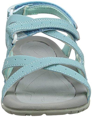 Hi-Tec Women's Waimea Falls Hiking Sandals Blue (Aquifier/Icy Morn) tNFw2QX68