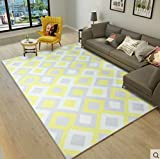 Carpet,ikea geometric rectangular bedroom bed foot mat-C 160x230cm(63x91inch)160x230cm(63x91inch)