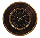 Deco 79 56654 Chic Wooden Wall Clock