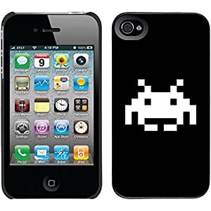 Space Invader design on Black iPhone 6 plus 5.5 Thinshield Snap-On Case