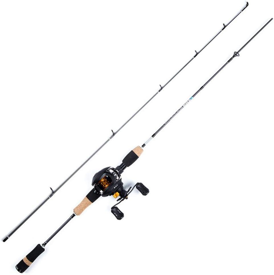 CGMZN Fishing rod 1.8M Fishing Rod Carbon Spinning Rods