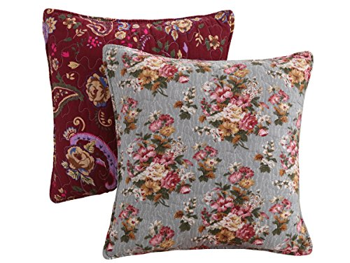 Greenland Antique Chic pillow Pair Accessory, Multicolor (Antique Chic Quilt Set)