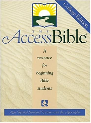 The Access Bible: New Revised Standard Version with Apocrypha- A Resource for Beginning Bible Students