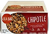 SOLA BAR Savory Wholesome Meal Bar, Chipotle, 1.2 oz, 12 Count